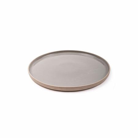 Krabi bord grijs 21 cm